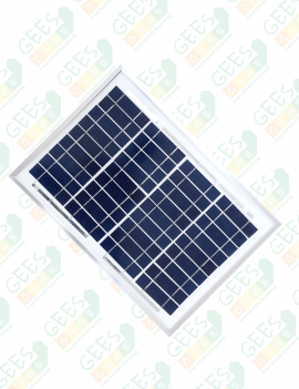 5W 12V Polikristal Güneş Paneli