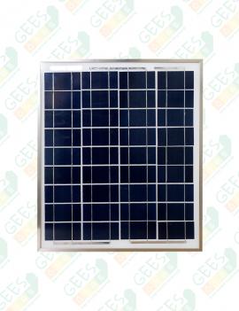 20 W 12V Polikristal Güneş Paneli