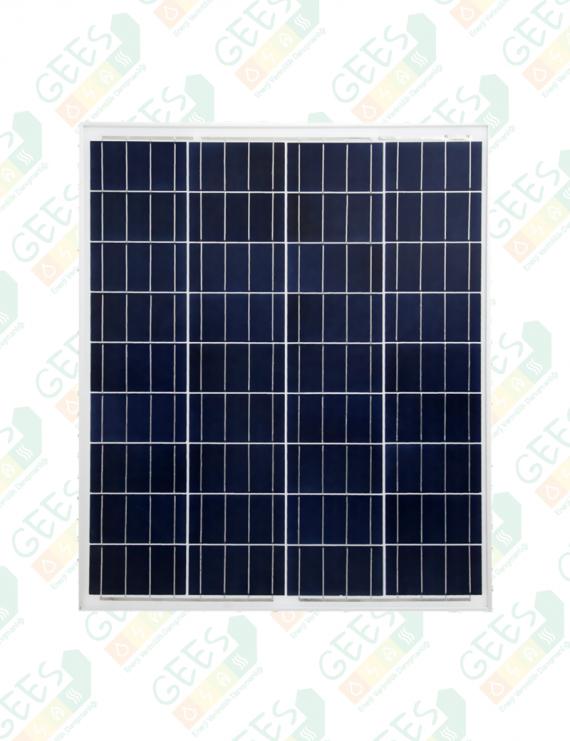 80W 12V Polikristal Güneş Paneli