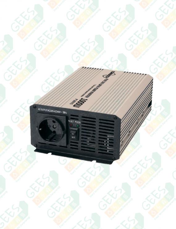 P1000-12V-24V Tam Sinüs İnverter 12V-24V-1000W