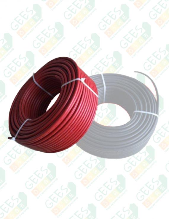 4mm Solar Kablo PVII-F Kırmızı 1 Metre