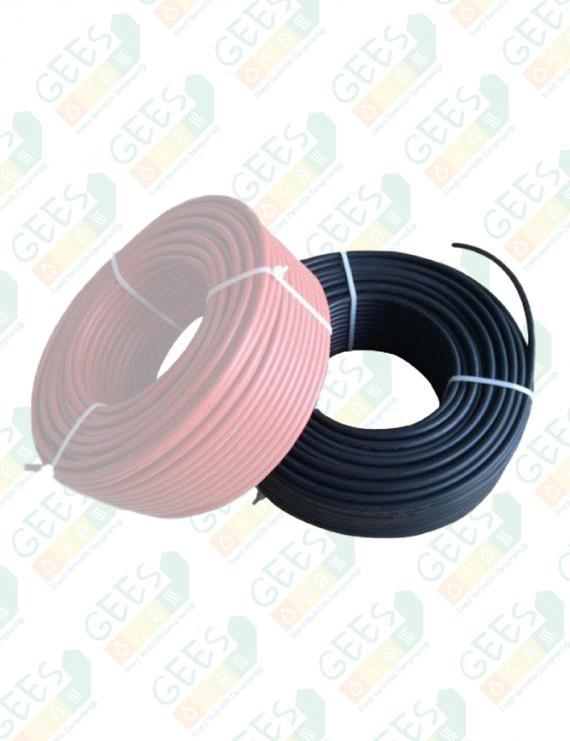 6mm Solar Kablo PVII-F Siyah 1 Metre